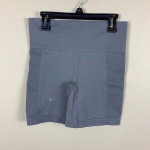 Lululemon gray sculpt shorts